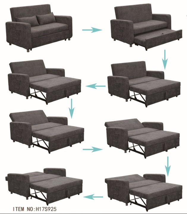 Terrific High Performance Functional Sofa Bed Iron Sheet Metal Legs 5 Caraccident5 Cool Chair Designs And Ideas Caraccident5Info