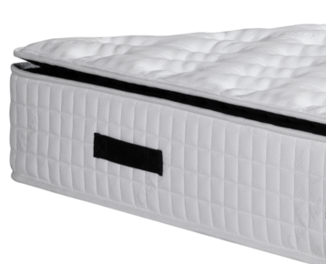Knitted Pattern Spring Foam Mattress / Pocket Spring Mattress For Healthy Sleep