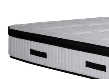 White Color Spring Foam Bed Mattress For Home And Commercial No Reversible