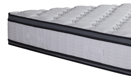 Knitted Pattern Spring Foam Mattress For Healthy Sleep Medium Hardness