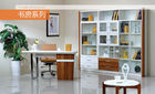 China Modern Full Bedroom Furniture Sets / Wall Mounted Bookshelves company