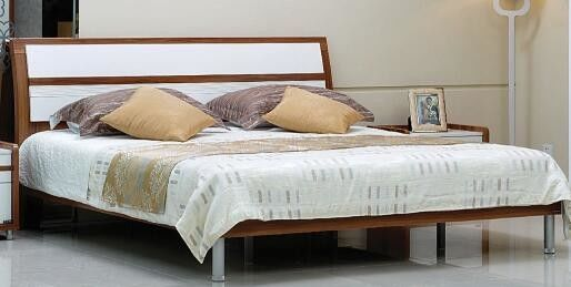 Metal Legs Full Bedroom Furniture Sets / Contemporary Bedroom Furniture
