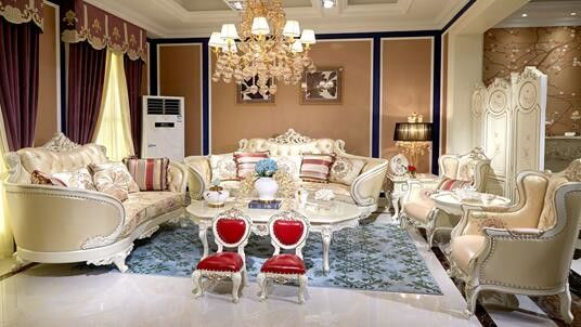 Elegant Classic French Furniture / French Style Living Room ...