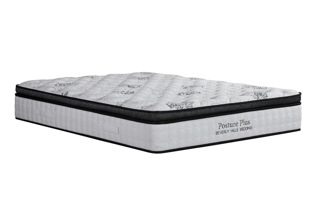 5 - Zone Spring Foam Mattress / Hotel And Apartment Double Bed Mattress