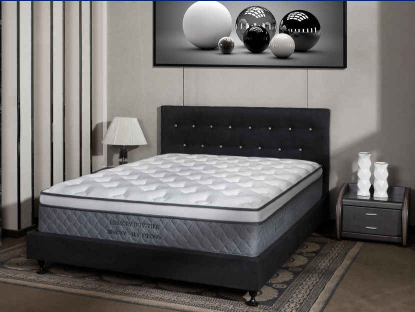 Wear Resistant Spring Foam Mattress With Pocket Spring Comfort Foam
