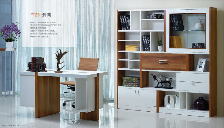 Health Full Bedroom Furniture Sets Partical Board With Melamine Material