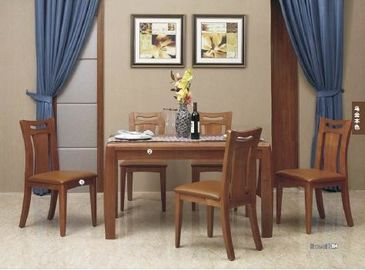 Simple Contemporary Dining Room Furniture / Full Solid Wood Dining Table